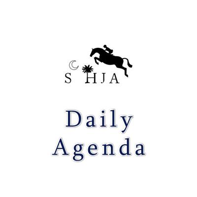 When Do I Go? - SCHJA Agenda.
